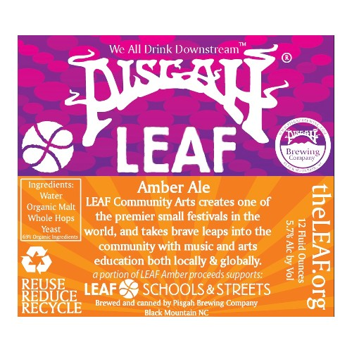 Pisgah Brewing Co. 'LEAF' Amber 12oz (Can)