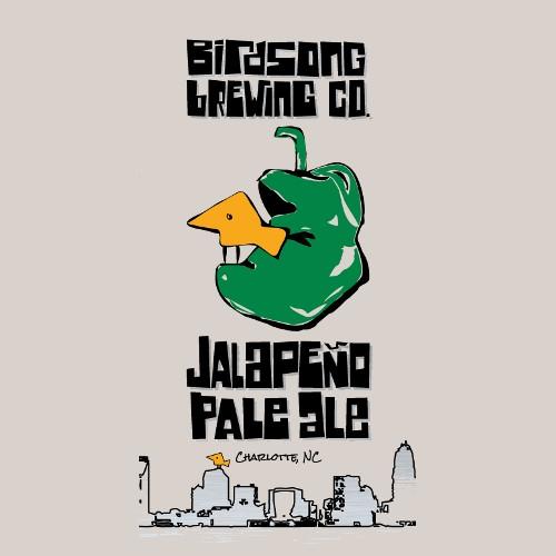 Birdsong Birdsong 'Jalapeno' 16oz (Can)