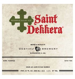 Destihl 'Saint Dekkera' Sour Ale 500ml