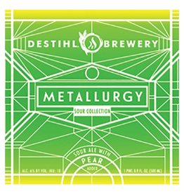 Destihl 'Metallurgy' Sour Ale with Pear 500ml