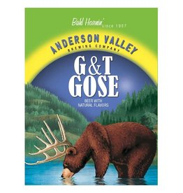 Anderson Valley 'G&T' Gose 12oz Sgl (Can)