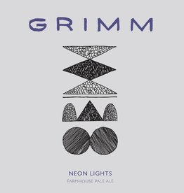 Grimm Ales 'Neon Lights' Farmhouse Pale Ale 22oz