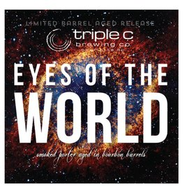 Triple C 'Eyes of the World' Barrel Aged Smoked Porter 22oz