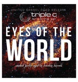 Triple C 'Eyes of the World' Barrel Aged Smoked Porter 22oz