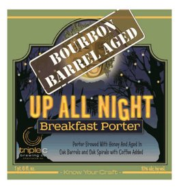 Triple C Bourbon Barrel Aged Up All Night' Breakfast Porter 22oz