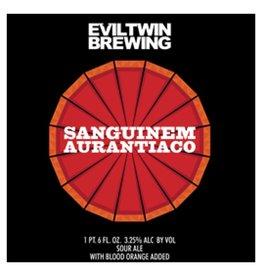 Evil Twin 'Sanguinem Aurantico' Blood Orange Sour Ale 22oz