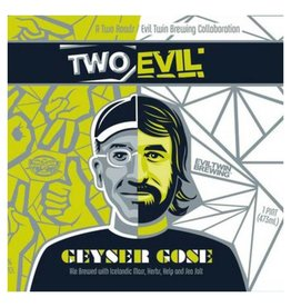 Evil Twin x Two Roads 'Geyser Gose' 16oz Sgl (Can)