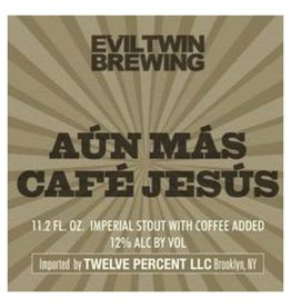 Evil Twin Brewing Aun Mas Cafe Jesus' 330ml