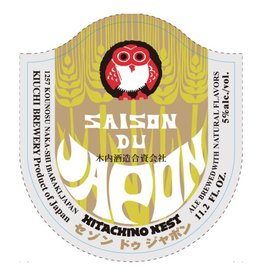 Kiuchi 'Hitachino Nest Saison du Japon' 11.2oz Sgl