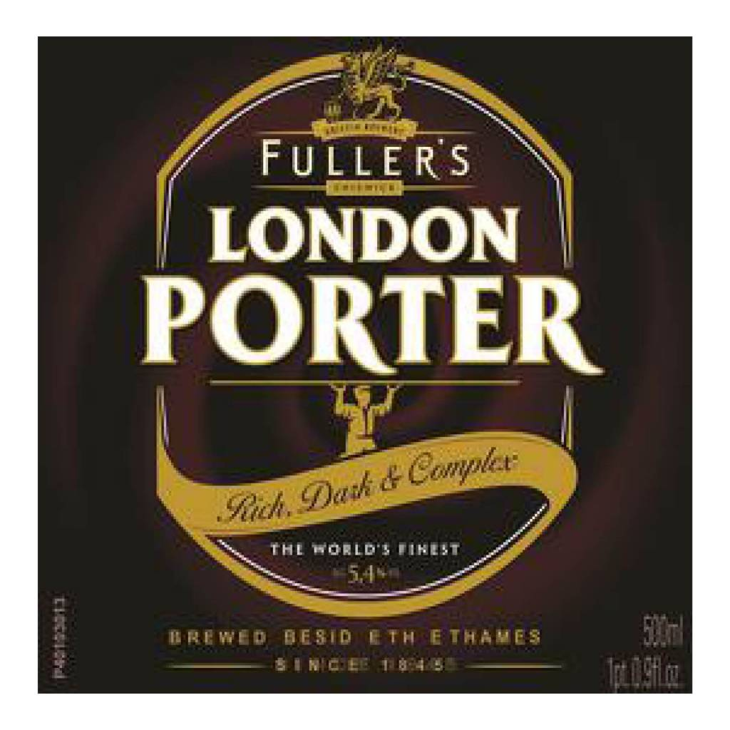 Fuller Smith & Turner 'London Porter' 12oz Sgl