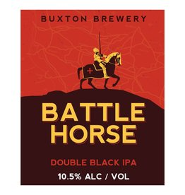 Buxton 'Battle Horse' Double Black IPA 11.2oz Sgl
