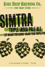 Knee Deep 'Simtra' Triple IPA 22oz