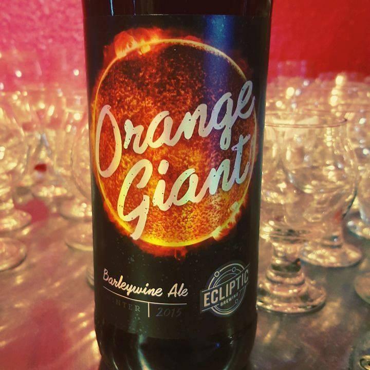 Ecliptic 'Orange Giant' Barleywine 22oz