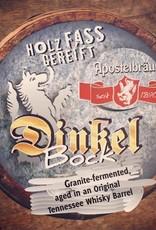 Apostelbrau 'Dinkel Bock Granite' Whiskey Barrel Aged Bock 500ml