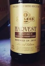 J.W. Lees 'Harvest Ale 2014 Vintage - Lagavulin Casks' 9.3oz Sgl