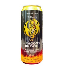William's Orchards Limited 'Dragon's Breath Ginger Cider' 16oz Sgl (Can)