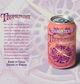 Wicked Weed 'Tropicmost' Passionfruit Gose 12oz Sgl (Can)