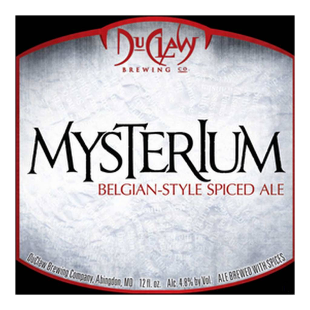 DuClaw 'Mysterium' Belgian-style Spiced Ale 12oz Sgl