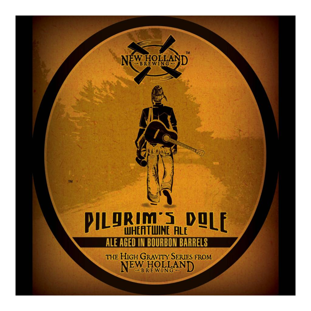New Holland 'Pilgrim's Dole' Wheatwine Ale aged in Bourbon Barrels 12oz Sgl