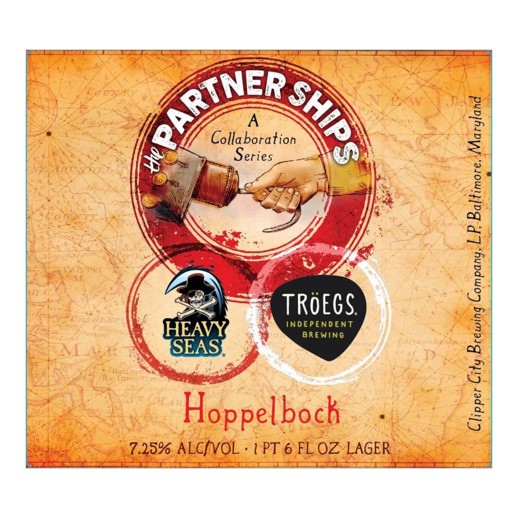 Heavy Seas x Troegs 'Partner Ships Collaboration Series #2: Hoppelbock' 22oz
