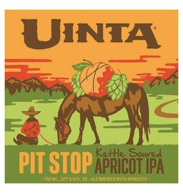Uinta 'Pit Stop' Kettle Soured Apricot IPA 750ml