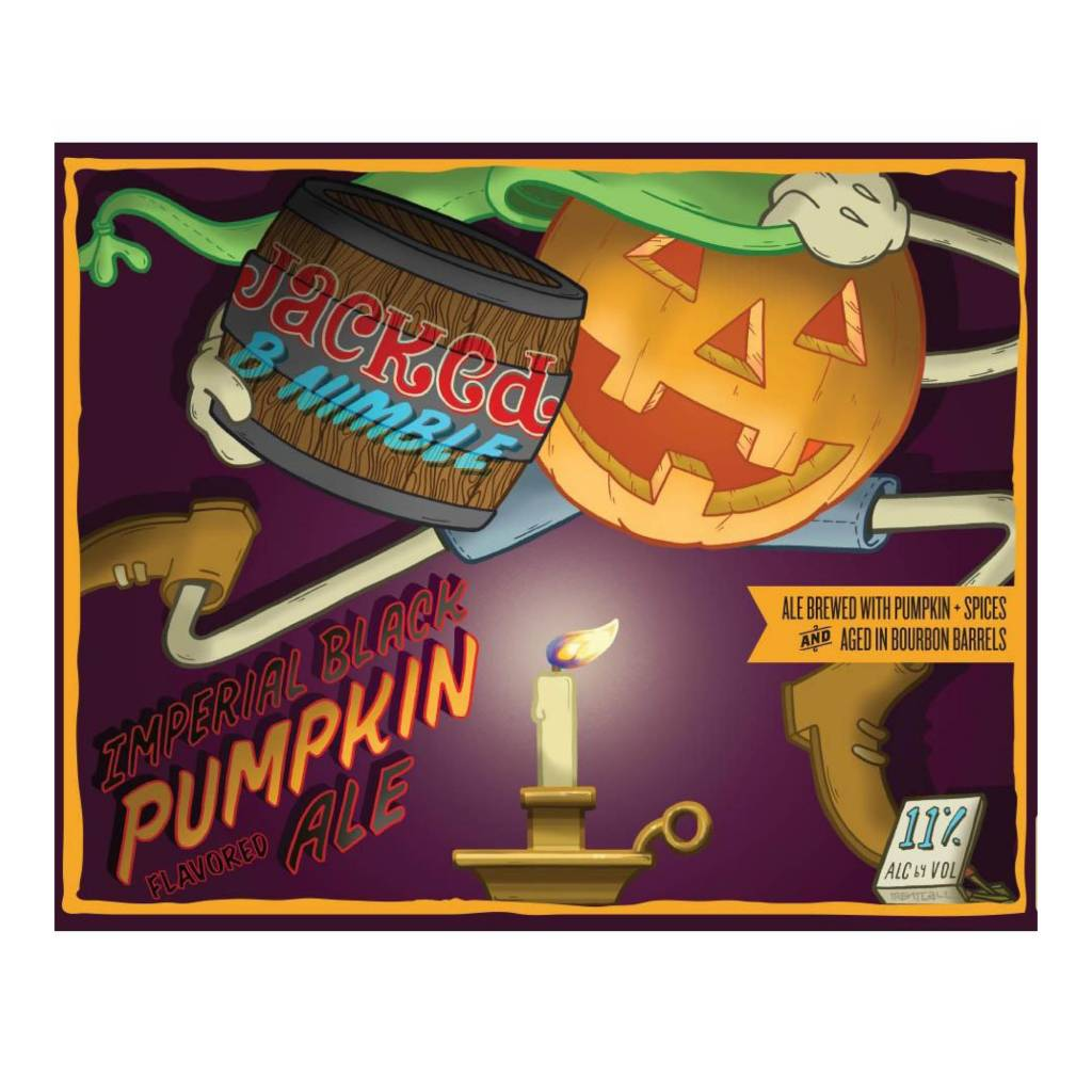 Uinta 'Jacked B Nimble' Imperial Black Pumpkin Ale 750ml