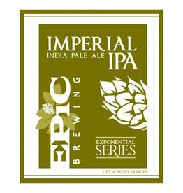 Epic 'Imperial IPA' 22oz