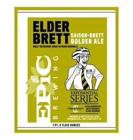 Epic x Crooked Stave 'Elder Brett' Golden Ale 22oz