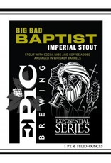Epic 'Big Bad Baptist' Imperial Stout 22oz