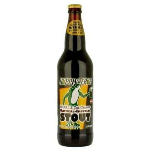 Hoppin' Frog 'BORIS the Crusher' Imperial Oatmeal Stout 22oz