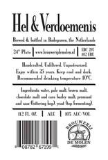 De Molen 'Hel & Verdoemenis' Russian Imperial Stout 330 ml Sgl