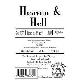 De Molen 'Heaven & Hell' Imperial Stout 330 ml Sgl