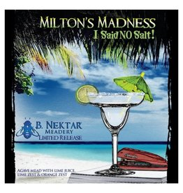 B. Nektar 'Milton's Madness' Agave Mead with Lime 375ml
