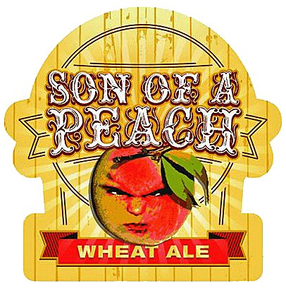 RJ Rockers 'Son of a Peach' Case (12oz - Box of 24)