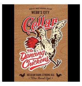 Green Bench 'Webb's City Cellar - The Dancing Chickens' 500ml