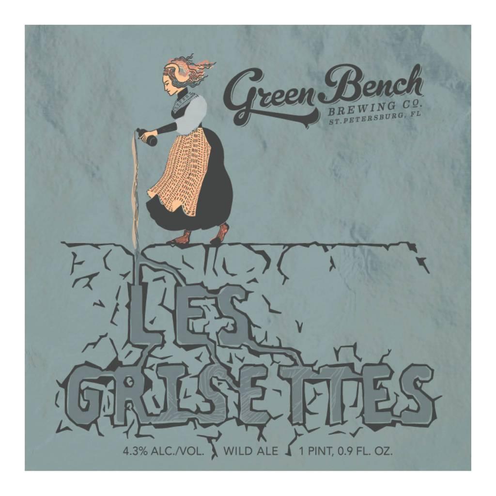 Green Bench 'Les Grisettes' 500ml