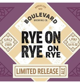 Boulevard 'Rye-on-Rye-on Rye 2017' 750ml