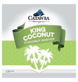 Catawba 'King Coconut' Coconut Porter 12oz Sgl (Can)