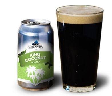 Catawba 'King Coconut' Coconut Porter 12oz Sgl (Can)