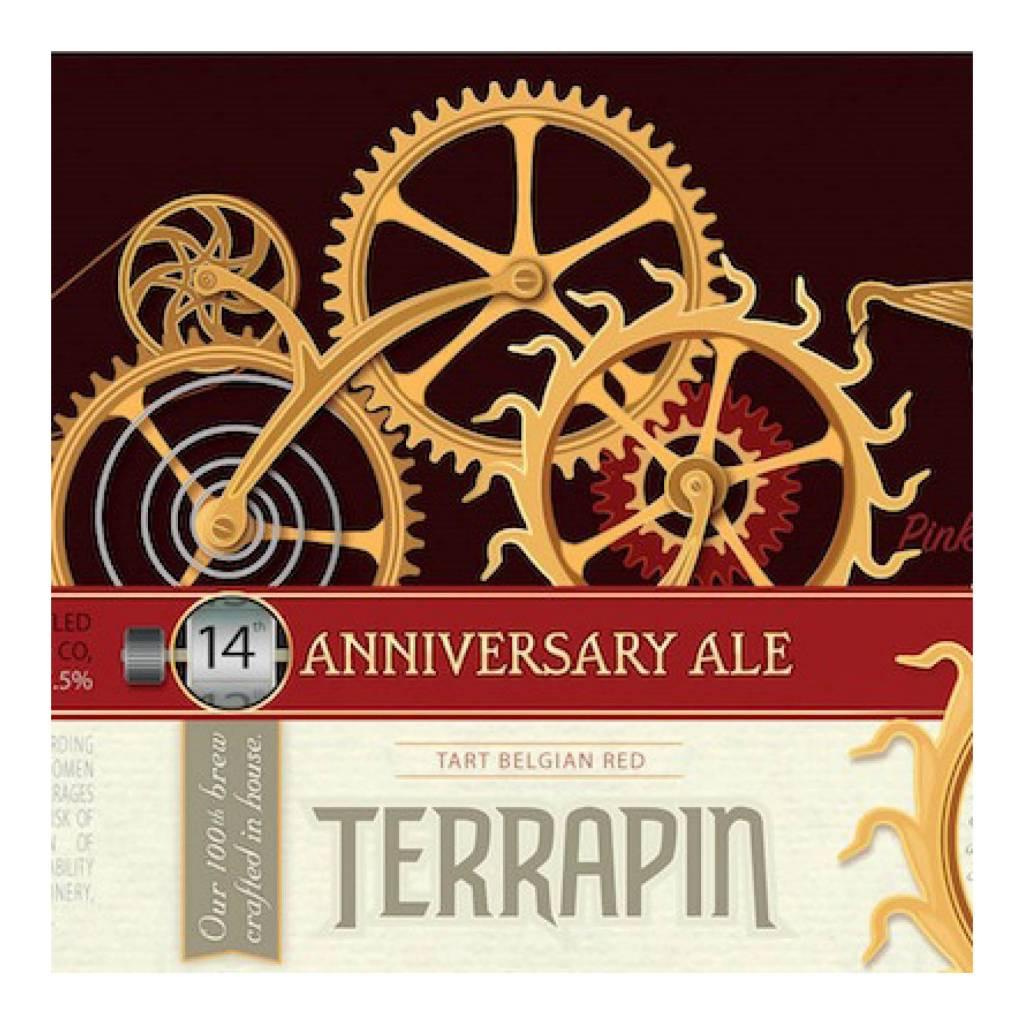 Terrapin '14 Anniversary Ale' Tart Belgian Red 22oz