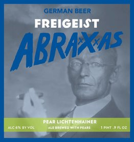 Braustelle 'Freigeist Abraxxxas - Pear Lichtenhainer' Smoked Weisse 500mL