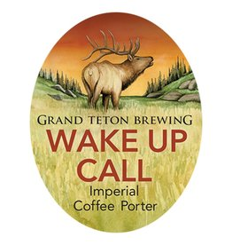 Grand Teton 'Wake Up Call' Imperial Coffee Porter 750mL
