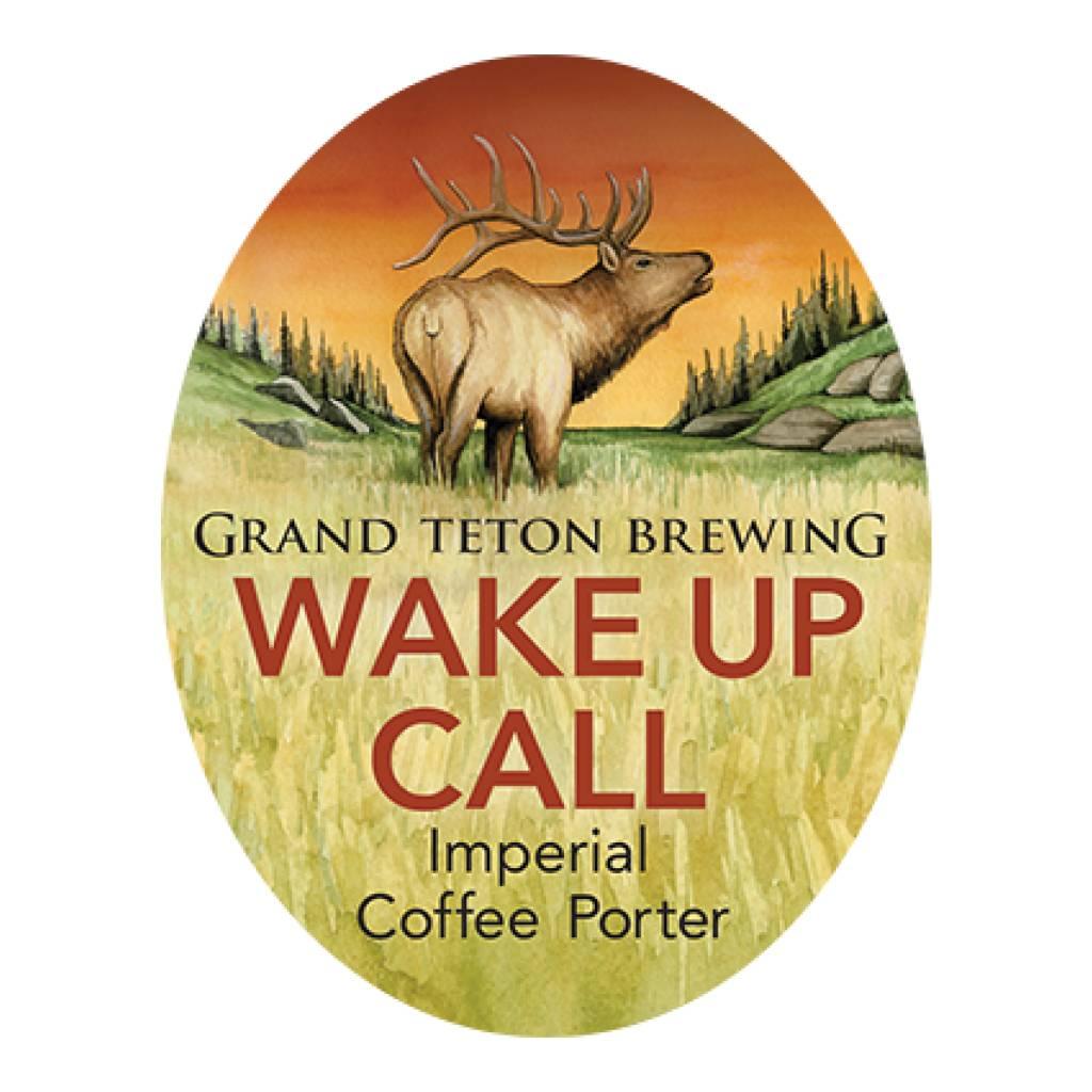Grand Teton 'Wake Up Call' Imperial Coffee Porter 750mL