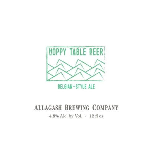 Allagash 'Hoppy Table Beer' 12oz Sgl