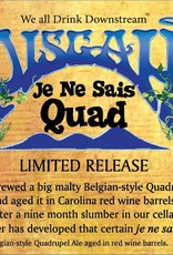 Pisgah 'Je Ne Sais Quad' Wine Barrel-aged Quad 750ml