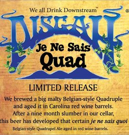 Pisgah 'Je Ne Sais Quad' Wine Barrel-aged Quad 750ml