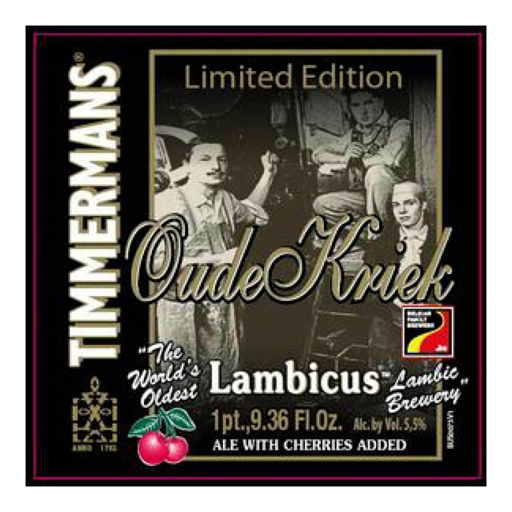 Timmermans 'Oude Kriek Lambicus' 750ml