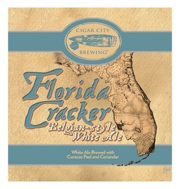 Cigar City 'Florida Cracker' White Ale 12oz (Can)