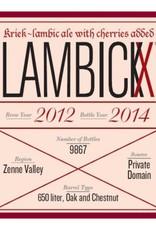 Vanberg & DeWulf 'Lambickx Private Domain - Kriek - 2012/2014'  750ml