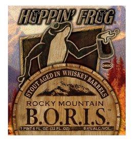 Hoppin' Frog 'Rocky Mountain BORIS' Stout aged in Whiskey Barrels 22oz